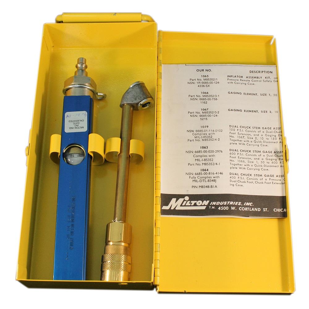 Milton c1059 inline aircraft tire pressure gauge plane parts inc milton c1059 inline tire pressure gauge altavistaventures Images